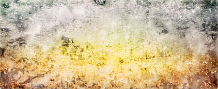 colorful watercolor background in green blue pink and yellow spring or Easter colors, abstract sunny bright bokeh blur design
