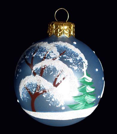 christmastree: christmas-tree ball