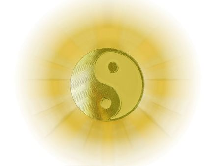 shining yin yang                               photo