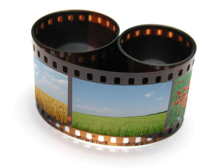 Roll film: pel�cula                                Foto de archivo