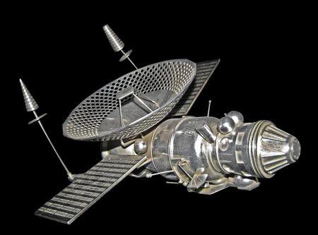 communicative: model of satellite