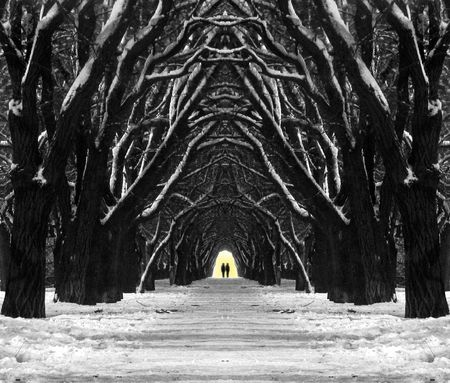 pathway: long way