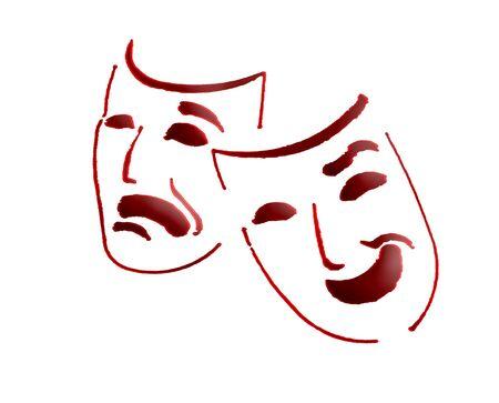 theatre masks                                Stock Photo - 6302608