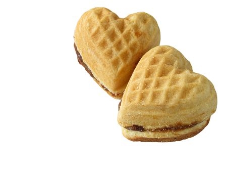 heart-like biscuits Stock Photo - 6367601