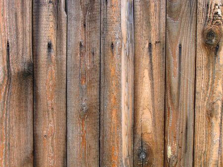 rough wooden fence background                                photo