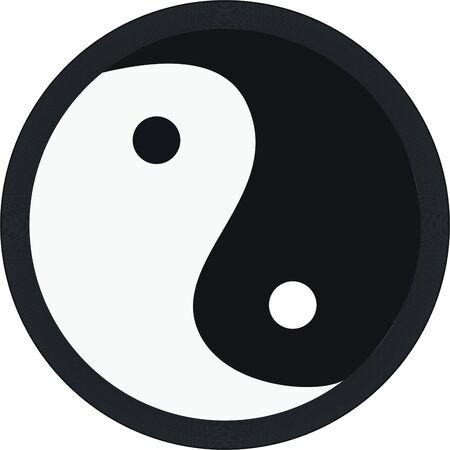 yang yin Vector