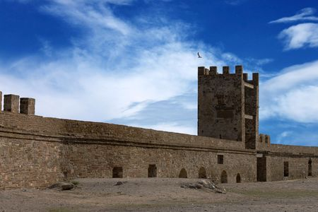 sudak: ancient fortress, Sudak, Crimea