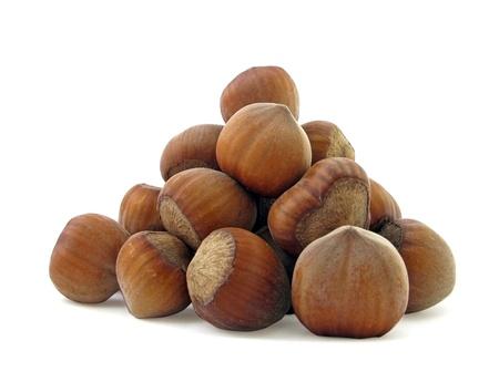 hazel nuts                               Stock Photo