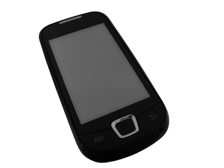 touch sensitive mobile phone Stock Photo - 8625175