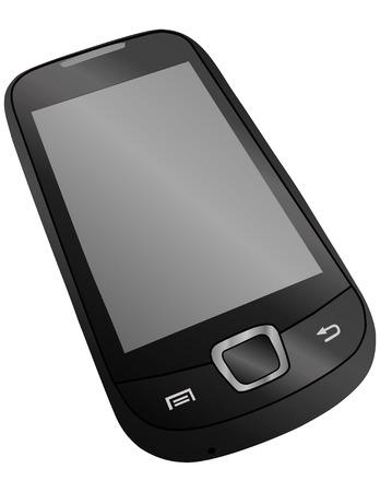 sensory mobile phone vector illustration Stock Vector - 8796237