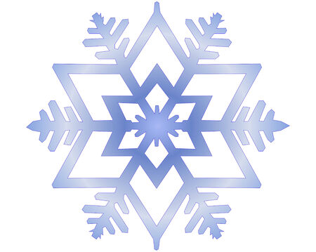 snowflake vector illustration Vector