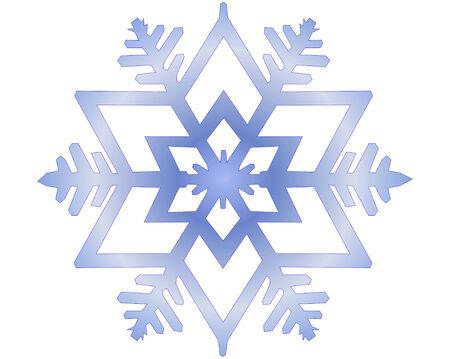 snowflake vector illustration Vector