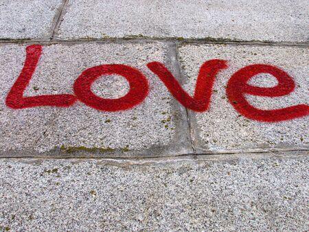 declaration of love:  Love