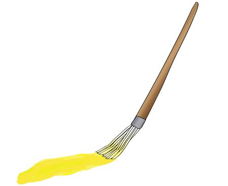 painting brush: painting brush
