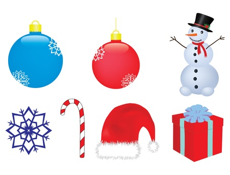 christmas vector clip-art Stock Vector - 9488274