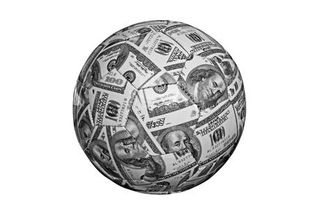 cash ball Stock Photo