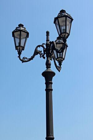 street lantern over blue sky Stock Photo - 9898799