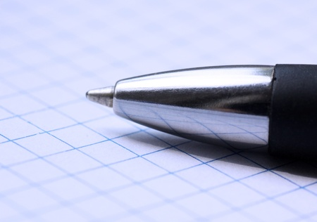 Pen on a copybook photo