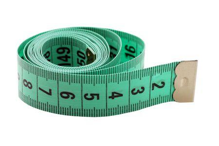 low cal: measure tape Stock Photo
