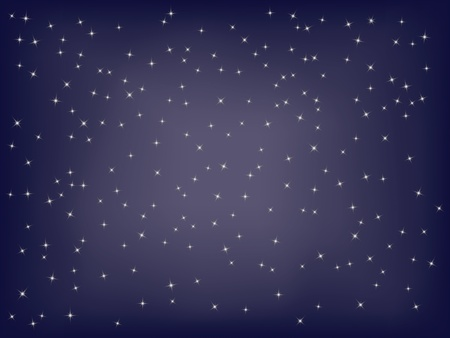 abstract starry background vector illustration Vector