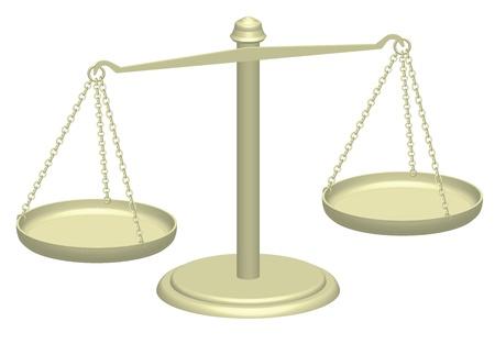 validez: 3d ilustración de las escalas de la justicia Foto de archivo