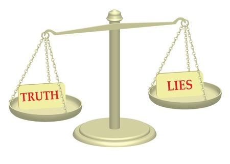 validez: Verdad y mentiras en la justicia ilustraci�n escalas