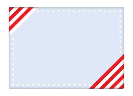 postcard for Independence Day vector illustration Vector