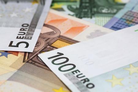 close up of euro banknotes Stock Photo - 13286740