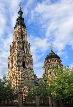 annunciation: Annunciation Cathedral in Kharkiv, Ukraine