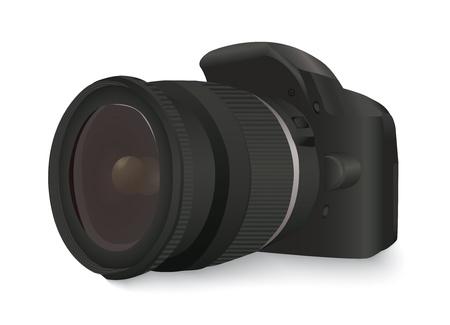 digital photo camera vector illustration Vector
