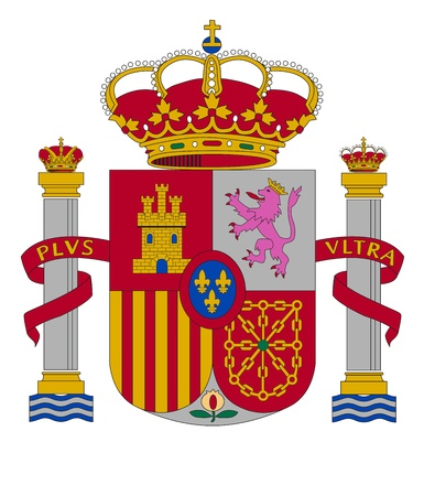 coat of arms of Spain Stock Vector - 14401924