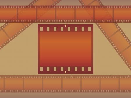 photo album page: p�gina de �lbum de fotos Ilustraci�n de plantilla