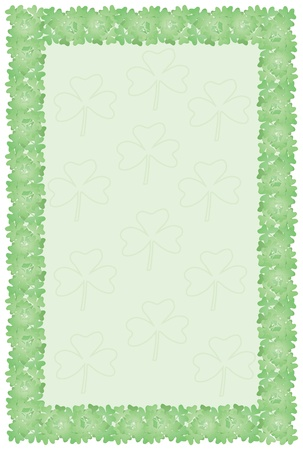 green background for St. Patricks Day Stock Vector - 17619486