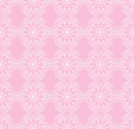 pink seamless pattern made of valentines Stock Vector - 17817518