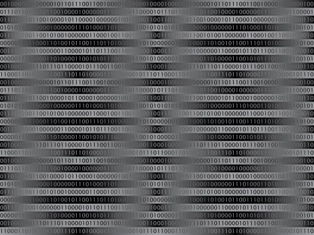 cripta: seamless pattern di codice binario