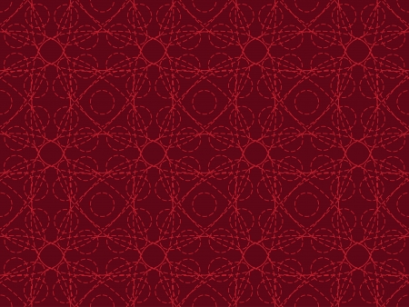jumble: red seamless entangled lines pattern