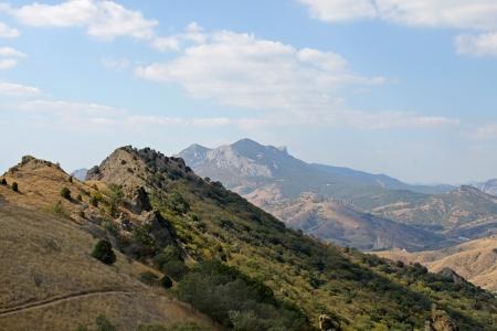 crimean: view on Crimean mountains