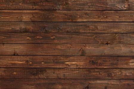 Nahaufnahme von Wand aus Holzbohlen Standard-Bild