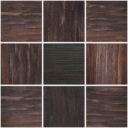 close ups: collage with close ups of wood texture