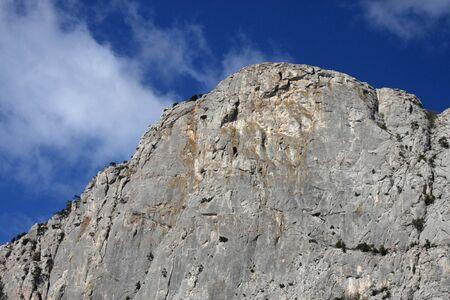 peak of mountain in Crimea Stock Photo - 23416712