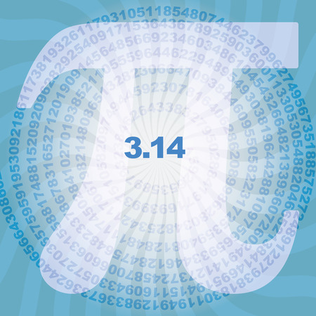 ciphers: sequence of number pi digits in spiral