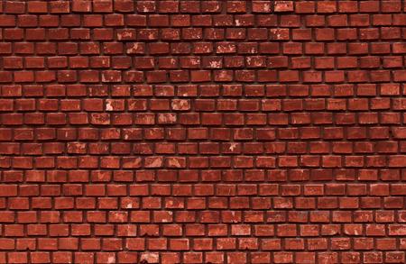 paredes de ladrillos: Fondo de la pared de ladrillo rojo