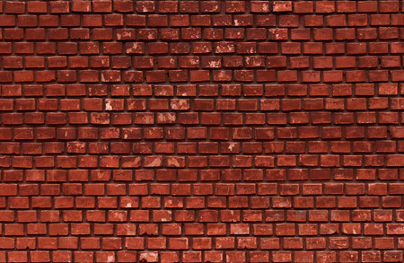 mattoncini: rosso mattone parete di fondo