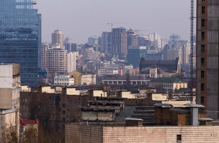 view on center of Kiev