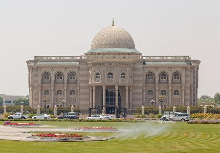 sharjah: SHARJAH, UAE - MAY 16, 2016: Sharjah Library