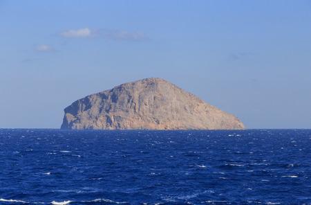 sporades: island of Piperi in the Sporades in Greece Stock Photo
