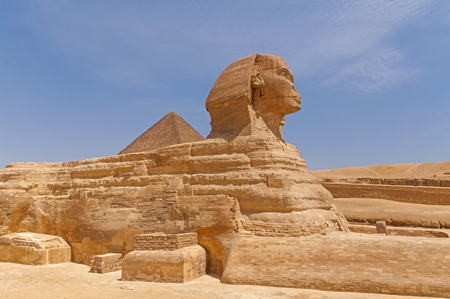 view on Great Sphinx of Giza