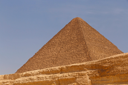 cheops: Great Pyramid of Cheops in Giza