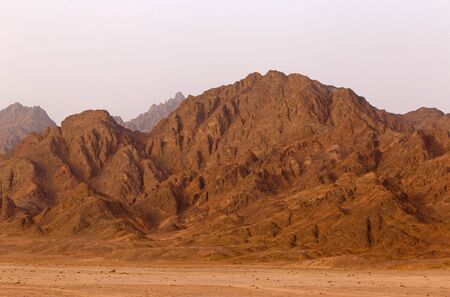 sinai peninsula: mountain range on Sinai Peninsula