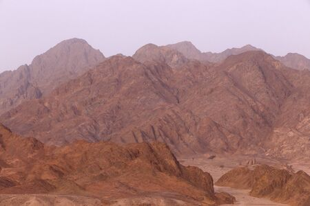 sinai peninsula: view on mountains at Sinai peninsula, Egypt